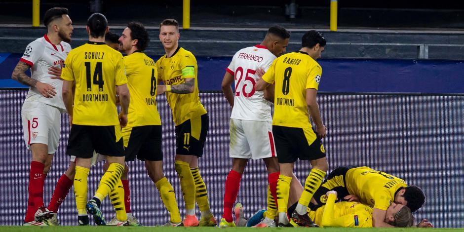 VIDEO: Resumen del Borussia Dortmund vs Sevilla, Octavos de Final, Champions League