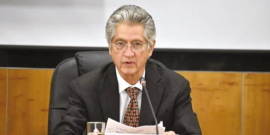 Agustín Caso, en su comparecencia ante diputados, ayer.