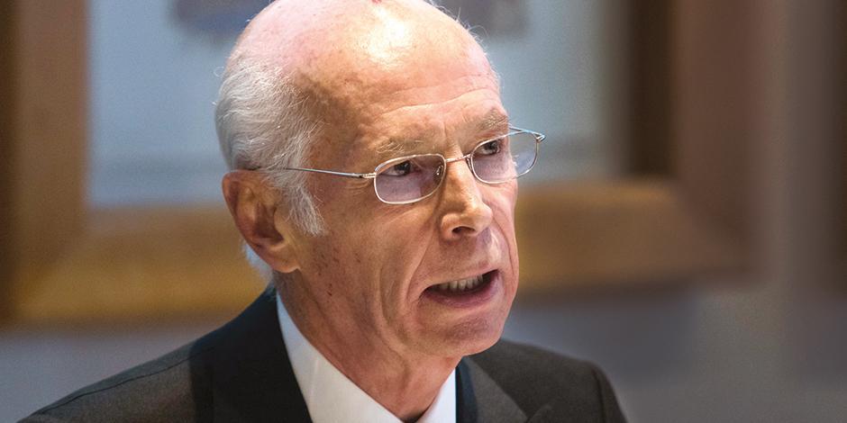 El también presidente del Consejo de Administración de Banco Azteca, en una imagen de archivo.