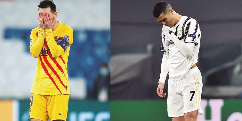 EL ROSARINO se lamenta, ayer, en el Estadio Parc des Princes por el fracaso del conjunto blaugrana.