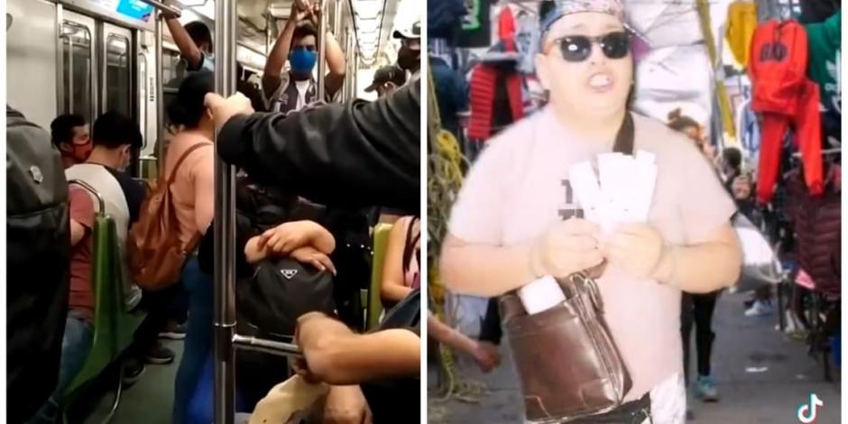 Venta de vacunas en el Metro