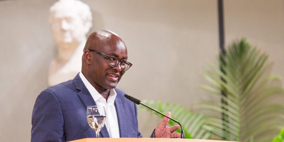 Achille Mbembe, en una foto de archivo