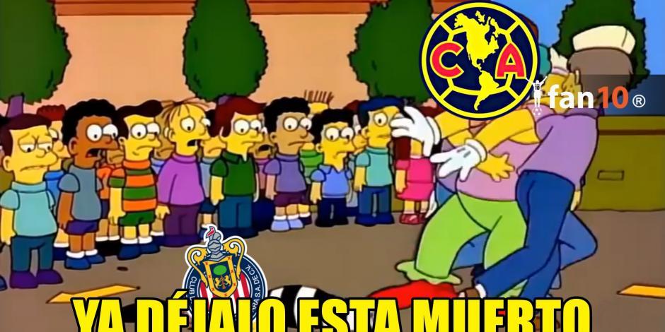 Memes del Chivas-América