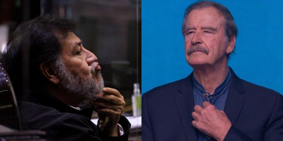 Vicente Fox-Gerardo Fernández Noroña-vacunas-atole-covid-19