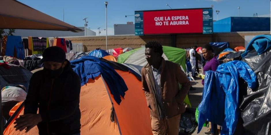 Migrantes en Baja California