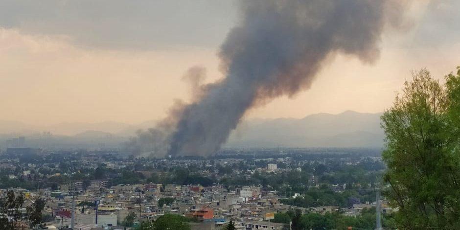 Colonia industrial vallejo-incendio