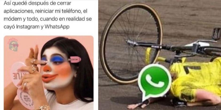 Estos son los mejores memes de la caída de WhatsApp e Instagram (FOTOS)