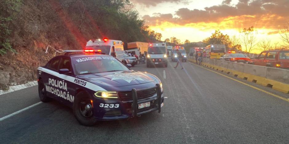Accidente en Pátzcuaro