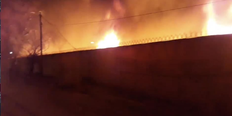 Incendio en Monclova