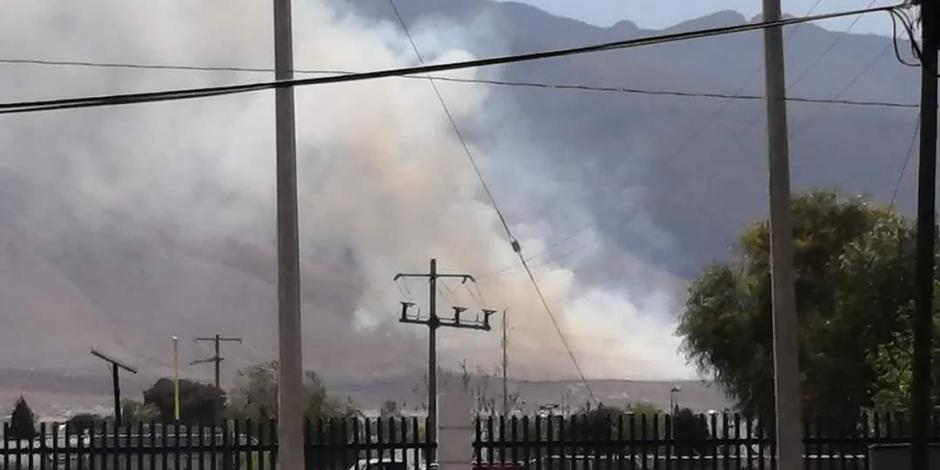 Incendio en Zapalinamé