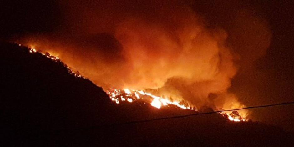 Nuevo León-incendio