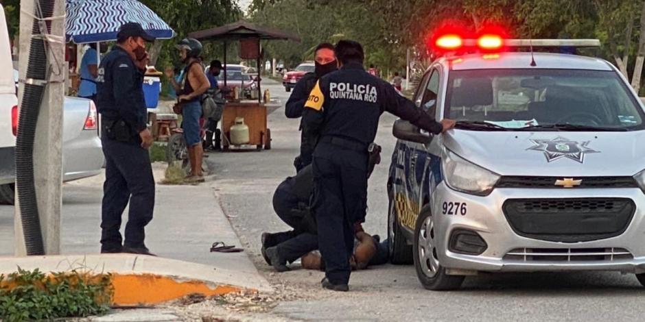 Policías tulum