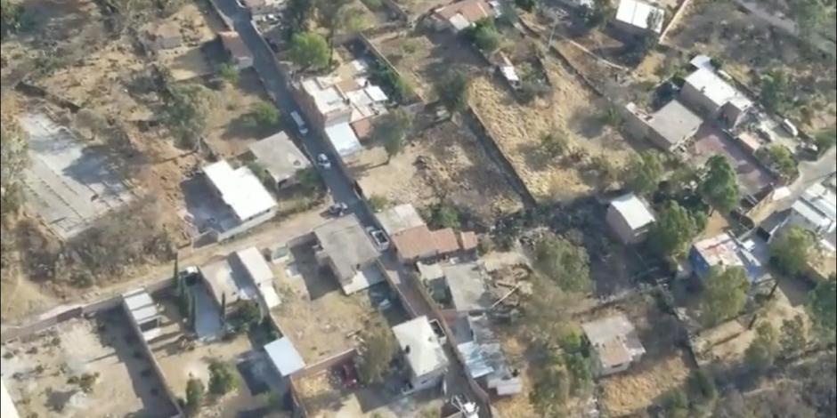 Guanajuato realiza operativos con drones