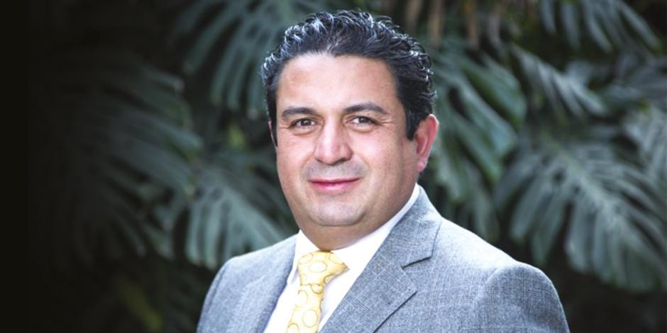 El presidente de TMSourcing, Adolfo González Olhovich, en foto de archivo.