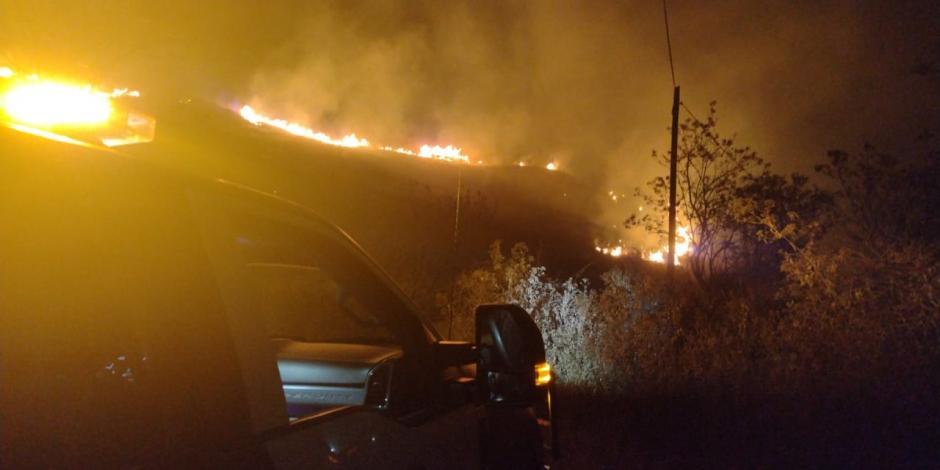 Incendio en Oaxaca