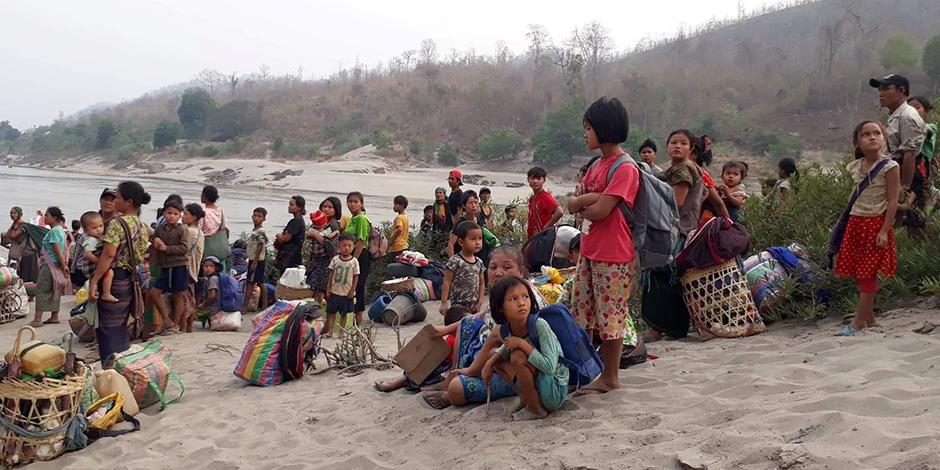 myanmar-refugiados