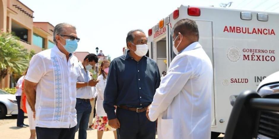 Guerrero recibe ambulancias