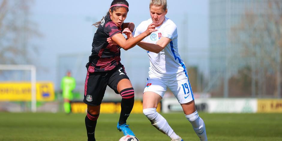 Selección Nacional Femenil empata en su primer partido del año en Europa