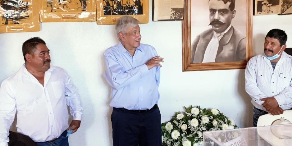 AMLO aniversario luctuoso de Zapata