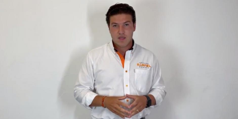 Samuel García responde a Adrián de la Garza