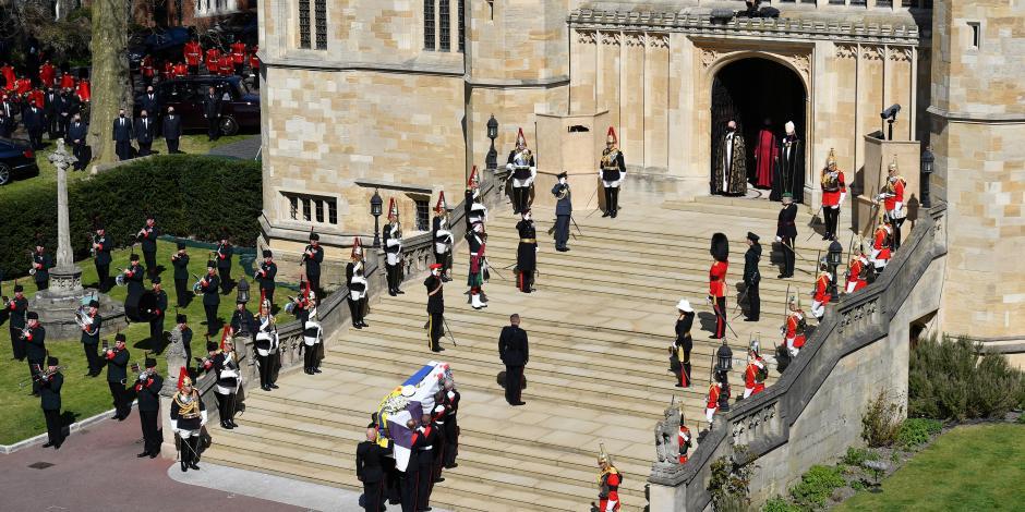 Así fue el funeral del príncipe Felipe de Edimburgo