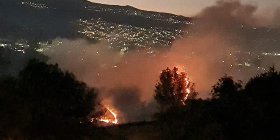 incendio cuajimalpa hoy