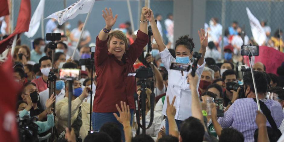 Laura Beristain arranca campaña para la presidencia de Solidaridad
