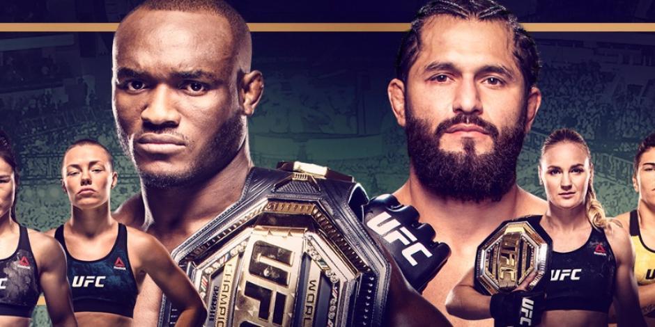 KAMARU USMAN vs JORGE MASVIDAL: en qué canal VER EN VIVO y horario, UFC 261 HORARIO CANAL TRANSMISIÓN ONLINE GRATIS INTERNET