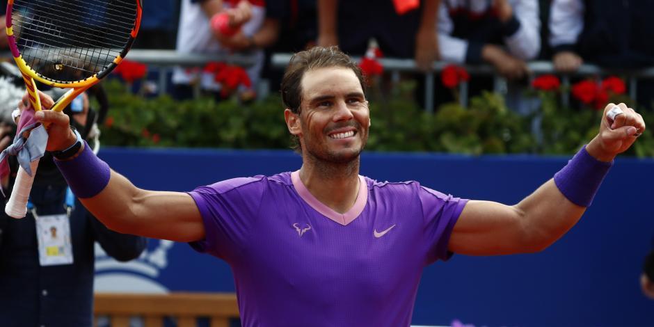 Tenis: Rafael Nadal avanza a la final en el Abierto de Barcelona; se medirá a Tsitsipas