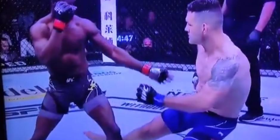 VIDEO: ¡Imágenes fuertes! Así fue la brutal lesión de Chris Weidman en UFC 261