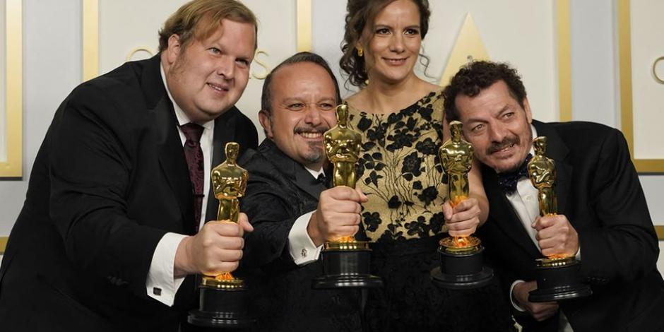 Bladh y los mexicanos Carlos Cortés, Michelle Couttolenc y Jaime Baksht