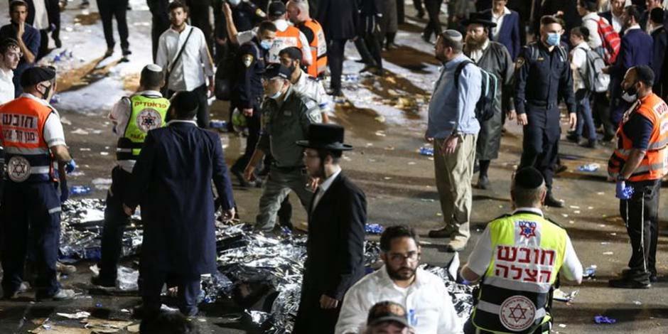 Estampida en Israel
