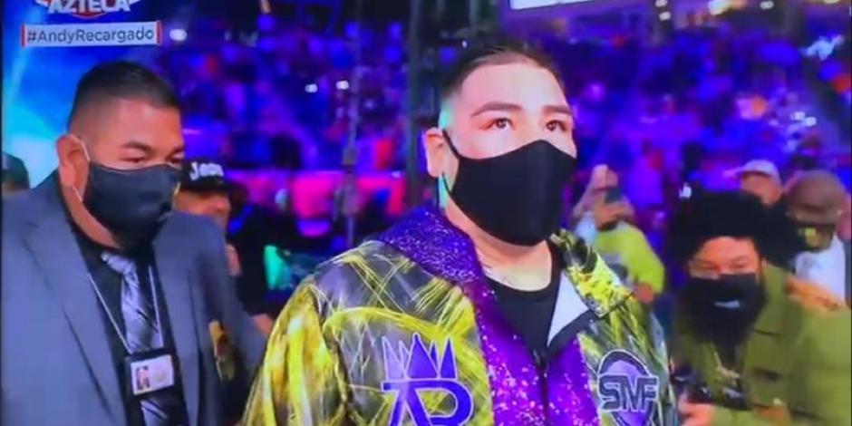 VIDEO: Así fue la entrada de Andy Ruiz en su pelea contra Chris Arreola