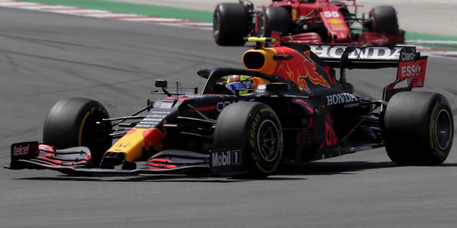 F1: ¡Orgullo mexicano! Nombran a Checo Pérez el piloto del día en el GP de Portugal