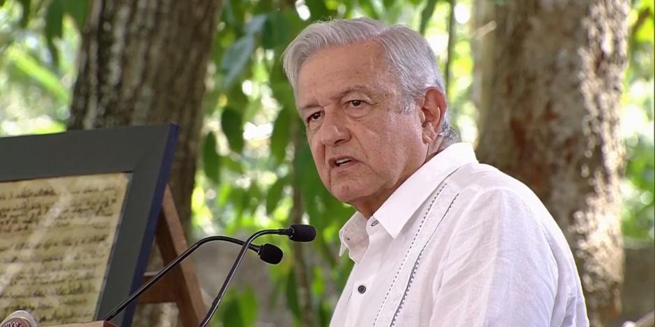 López Obrador mensaje al pueblo Maya