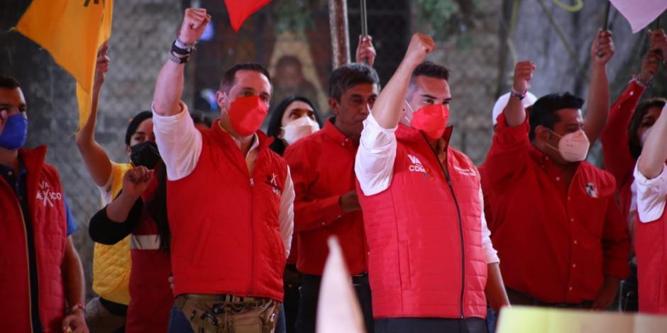 Elecciones 2021 'Alito' Moreno respalda a Adrián Rubalcava
