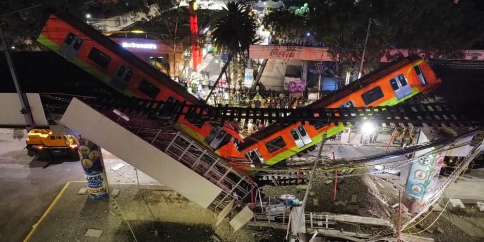 Desplome de la Línea 12 del Metro