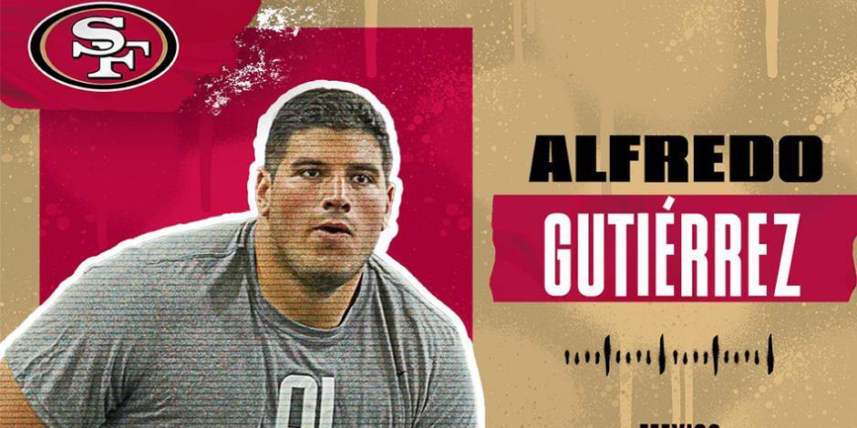 Alfredo Gutiérrez San Francisco 49ers