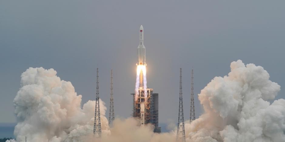 Cohete Long March-5B Y2