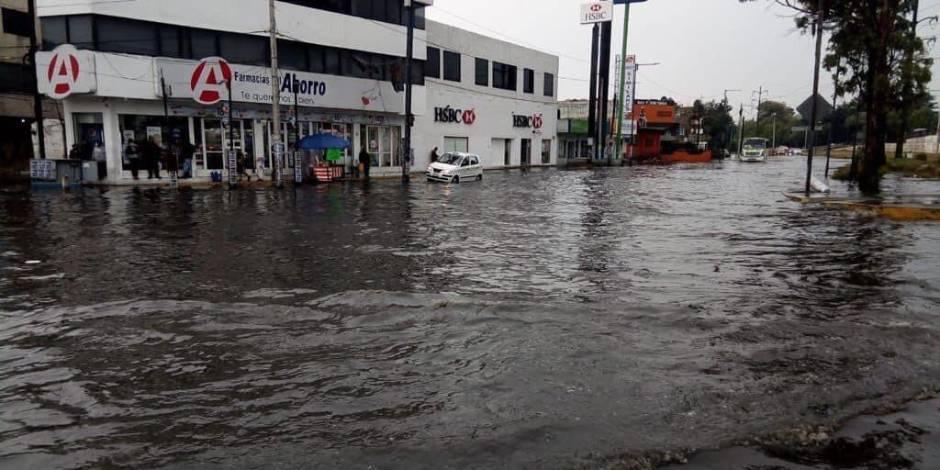Lluvia en Toluca