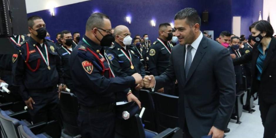 Omar garcía Harfuch-policías-Ciudad de México