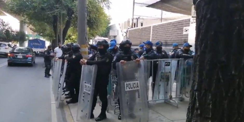 INE-policía CDMX