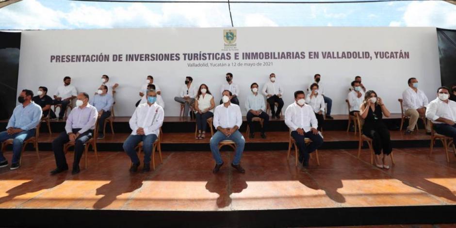 Presentación de inversiones turísticas e inmobiliarias en Valladolid, Yucatán