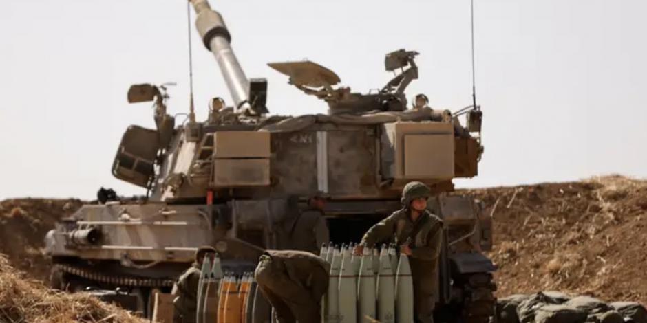 Israel se prepara para una incursión terrestre en Gaza