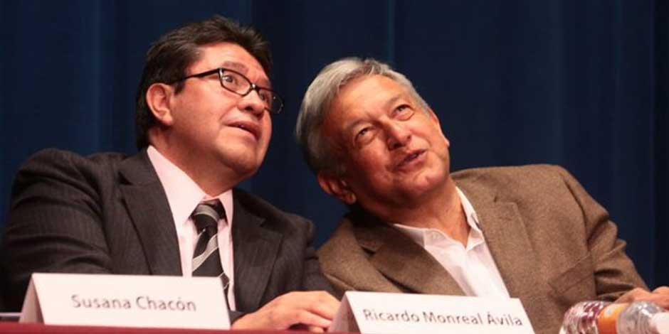 Ricardo Monreal y AMLO