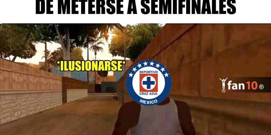 Memes Cruz Azul-Toluca