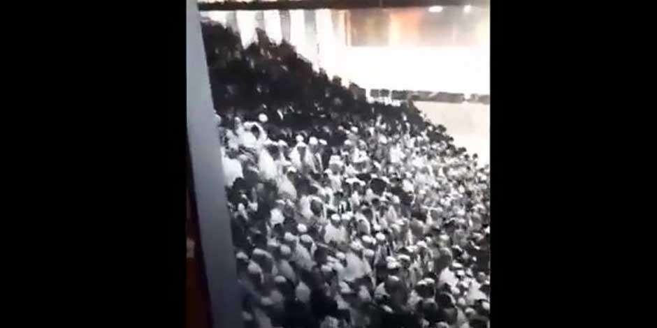Colapso de grada en Israel