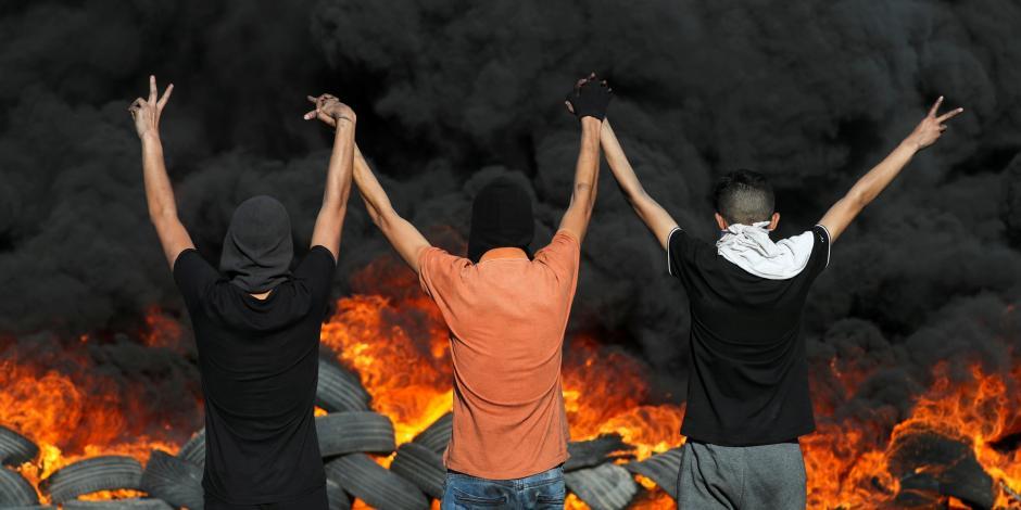 Protesta por la tensión en Jerusalén e Israel -Escalada en Gaza