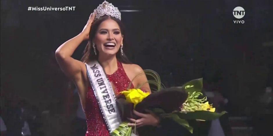 Andrea Meza, Miss México, gana Miss Universo 2021