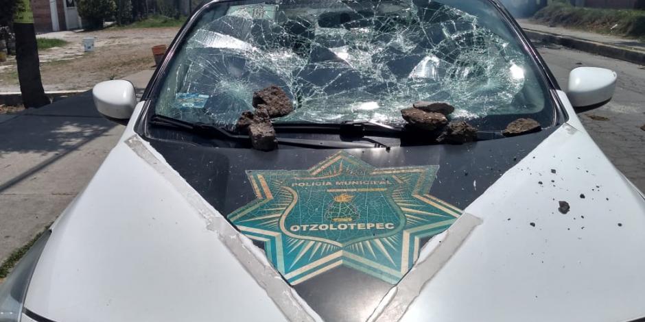 Vecinos de Otzolotepec agredieron a elementos de la Fiscalía municipal